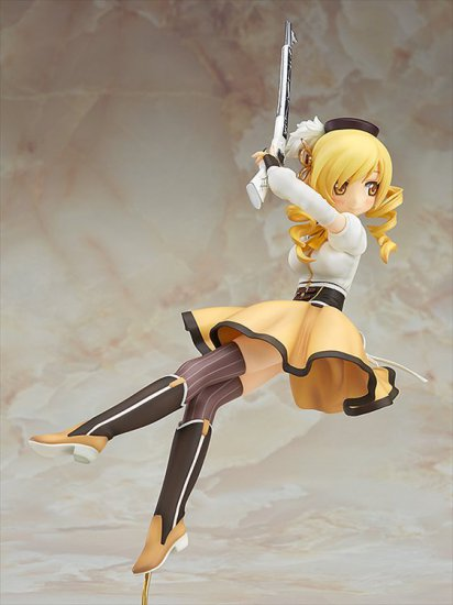 Puella Magi Madoka Magica The Movie - 1/8 Mami Tomoe The Beginning Story / The Everlasting PVC Figure - Click Image to Close