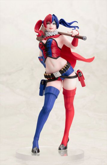 DC Comics Bishoujo - 1/7 Harley Quinn New 52 Version PVC Figure - Click Image to Close