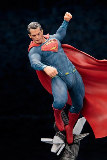 Batman vs Superman Dawn of Justice - 1/10 Superman PVC Figure - Click Image to Close