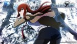 Steins Gate - Makise Kurisu Horizontal Wall Scroll