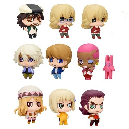 Tiger and Bunny - Chara Fortune Plus Todays Hero Vers Figure Charms Box