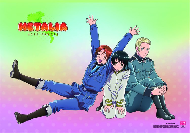 Hetalia- Group B Wall Scroll