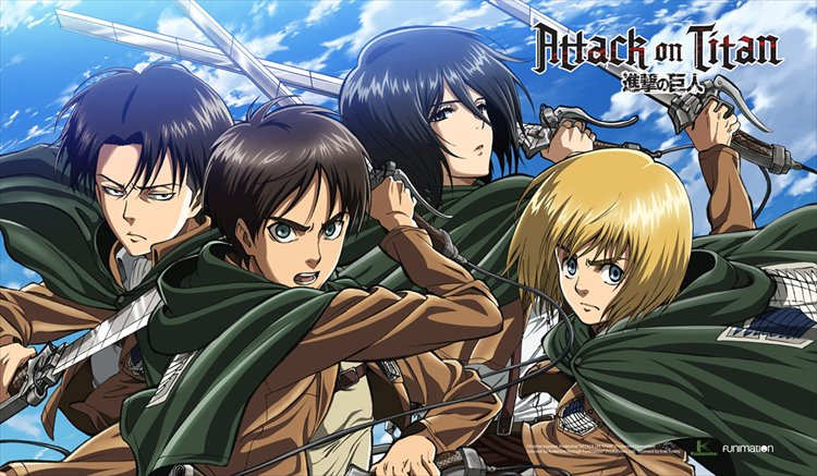 Attack on Titan - Deskmat A - Click Image to Close